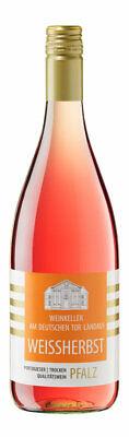 Pfalz Portugieser Weißherbst trocken QBA 6 x 1 Liter Flasche
