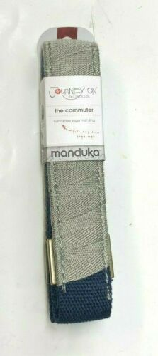Manduka Journey On Collection The Commuter Hands-Free Yoga Mat Sling Grey Gray