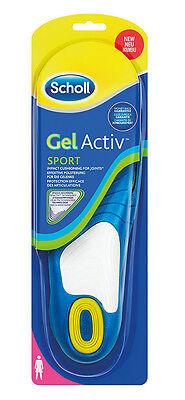 Scholl GelActiv Einlegesohle Sport Woman Schuheinlage Entlastungssohle 38-42