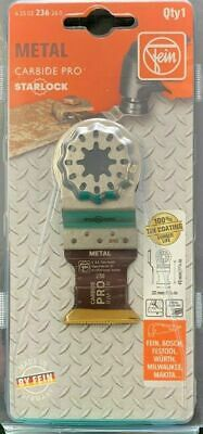 Fein Starlock Metal E-cut Carbide Pro 1-pack