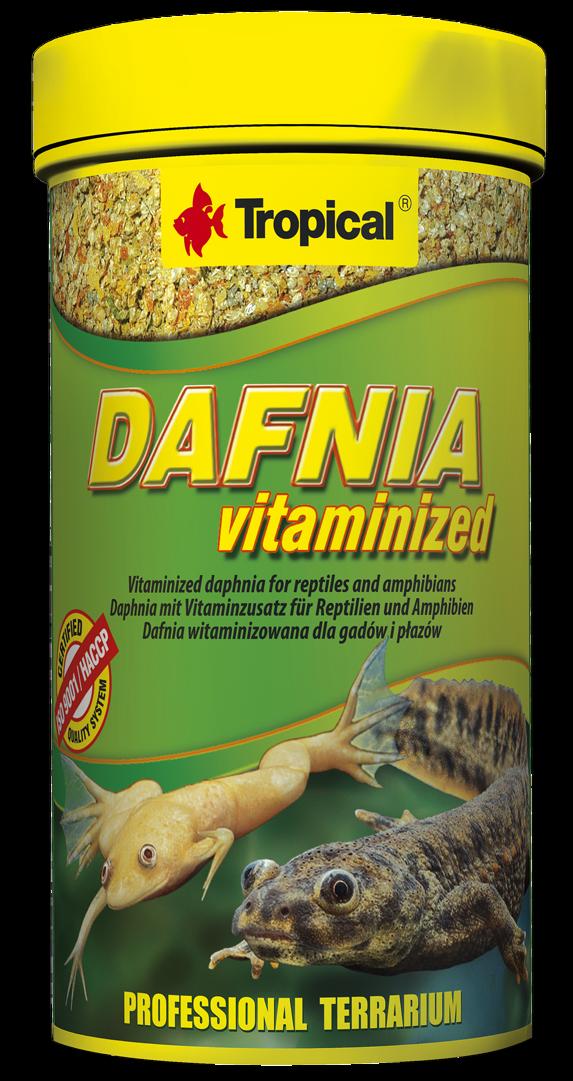 Tropical Dafnia Vitaminized 100ml - Daphnien für Reptilien und Amphibien