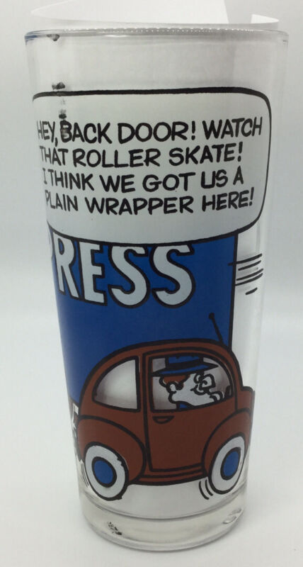 Pizza Hut Glass Rocky & Bullwinkle CB Lingo Blue Express Truck