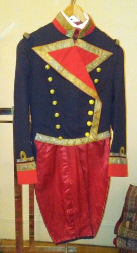 Late-1800s Spanish Navy Rear Admiral Formal Dress Uniform with Trousers