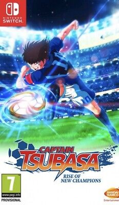 CAPTAIN TSUBASA: RISE OF NEW CHAMPIONS NINTENDO SWITCH AUGUST RELEASE