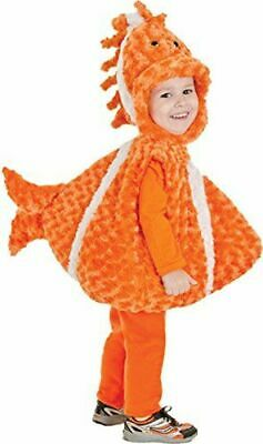 UNDERWRAPS BELLY BABIES BIG MOUTH CLOWN FISH HALLOWEEN COSTUME SIZE 4-6  NEW