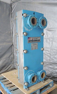 161.5 Sq.ft. Plate Heat Exchanger Stainless Steel