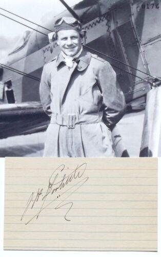 Jimmy Doolittle Autograph Doolittle Raid Medal Of Honor Recipient World War II .