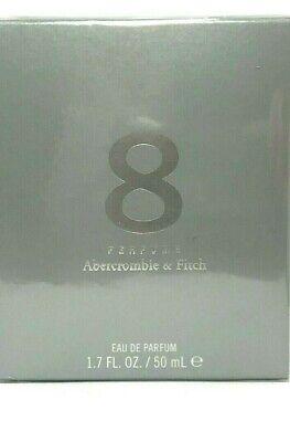 ABERCROMBIE & FITCH PERFUME 8 Eau De Parfum Spray WOMEN 1.7 Oz / 50 ml BRAND NEW