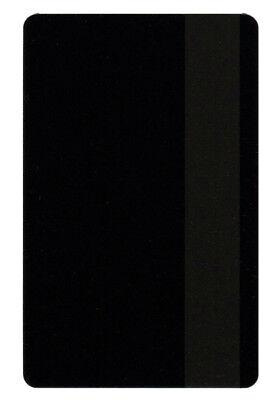 Zebra Plastikkarte Drucker (100 Magnetkarten schwarz, LOCO Plastikkarten Kartendrucker, PVC Zebra Card)