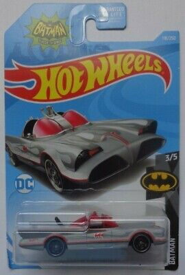 2019 Hot Wheels BATMAN 3/5 TV Series Batmobile 118/250