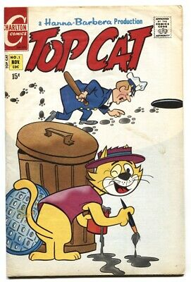 Top Cat #1 Charlton-1st issue-TV cartoon series 1970