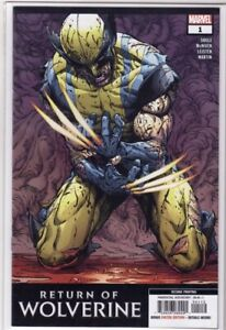 RETURN OF WOLVERINE 1 - McNIVEN 2nd PRINT STAR WARS ERROR.