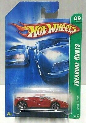 2007 Hot Wheels Treasure Hunt Enzo Ferrari Red Seats
