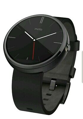 "Motorola Moto 360 Modern Timepiece Smart Watch 1.3"" Black"