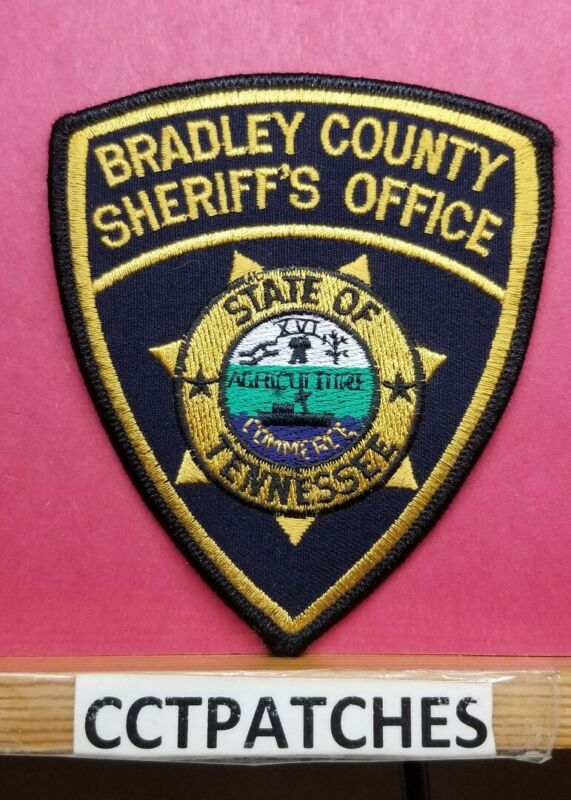 BRADLEY COUNTY, TENNESSEE SHERIFF (POLICE) SHOULDER PATCH TN
