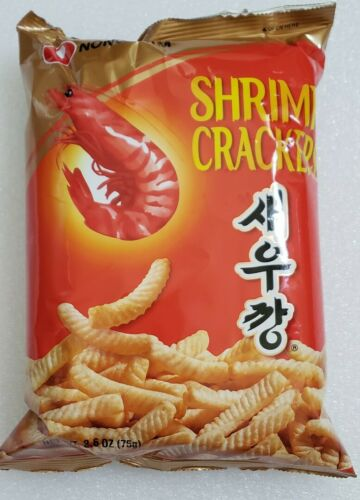 Korean Shrimp Cracker  Snack, 1 bag, 75g