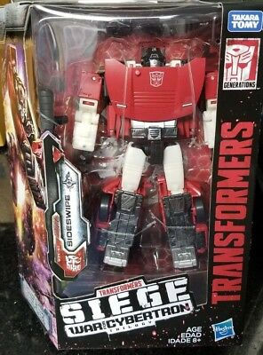 Transformers Generations War For Cybertron Siege Deluxe SIDESWIPE G1 IN STOCK
