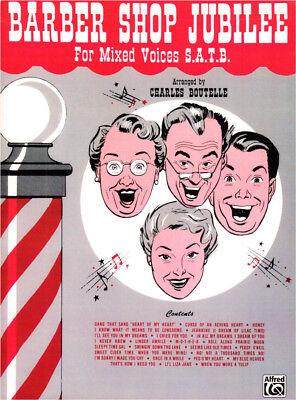 Barber Shop Jubilee Noten für Chor SATB a cappella Charles Boutelle (Arr.)