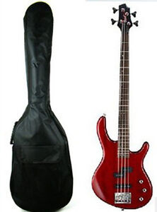 Double Straps Padded Electric Bass Guitar Gig Bag Soft Case For Electric Bass