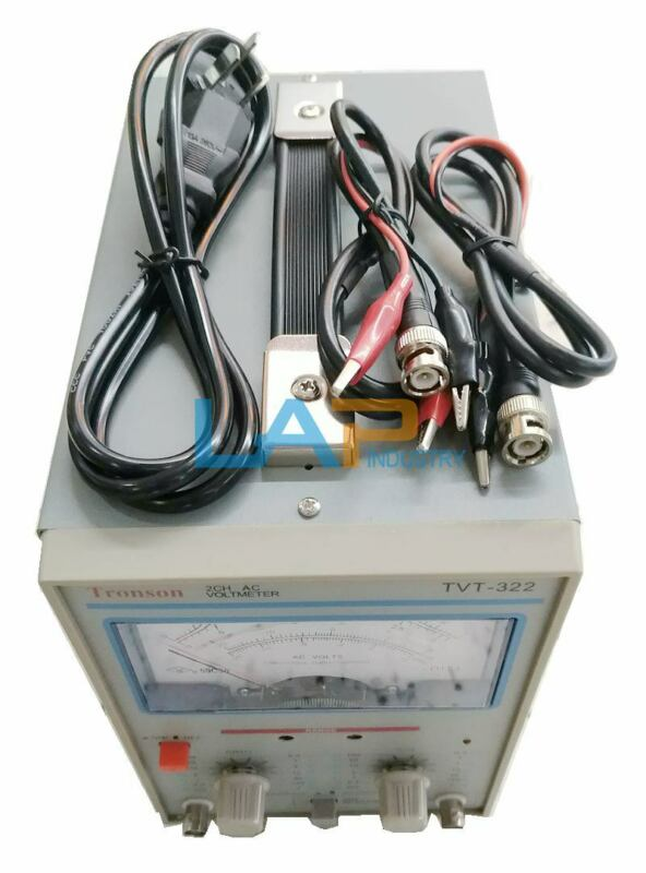 1PCS For Tronson TVT 322 Needle Millivoltmeter 110V/220V Two-pin millivoltmeter