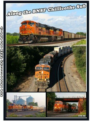 Along the BNSF Chillicothe Sub Railroad DVD  PLEASE READ