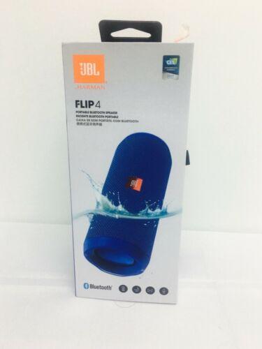 JBL Flip 4 Portable Bluetooth Speaker  - Blue
