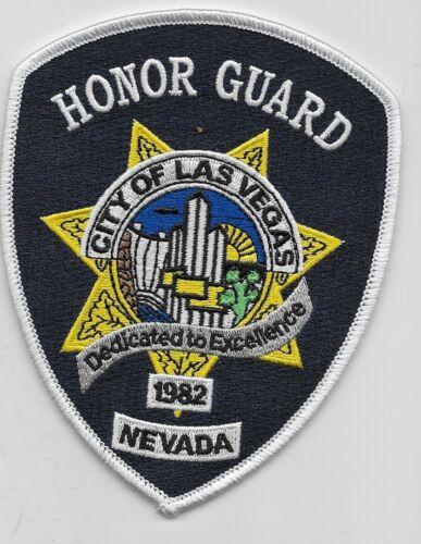 Honor Guard Las Vegas Police State Nevada NV