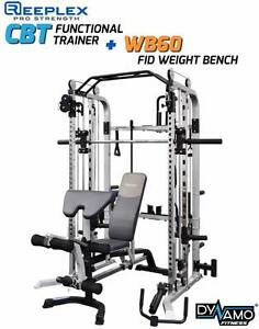 Functional Trainer & FID Weight Bench Heavy Duty Package Deal Malaga Swan Area Preview