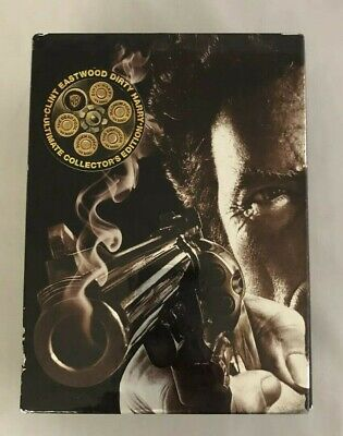Clint Eastwood Dirty Harry Ultimate Collectors Edition 7 Disc DVD Box Set