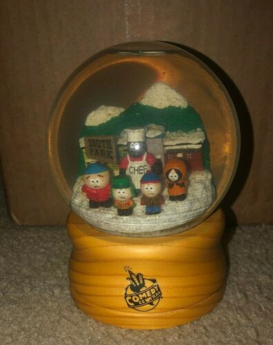 South Park Snow Globe Comedy Central Employee Promo Gift ONLY 250 Made VERY RARE