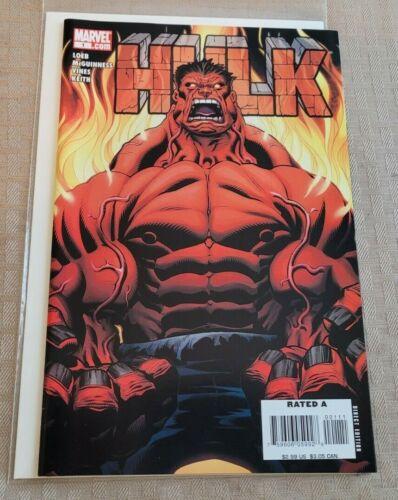 Hulk #1 (2008) NM Red Hulk Marvel Comics 2008