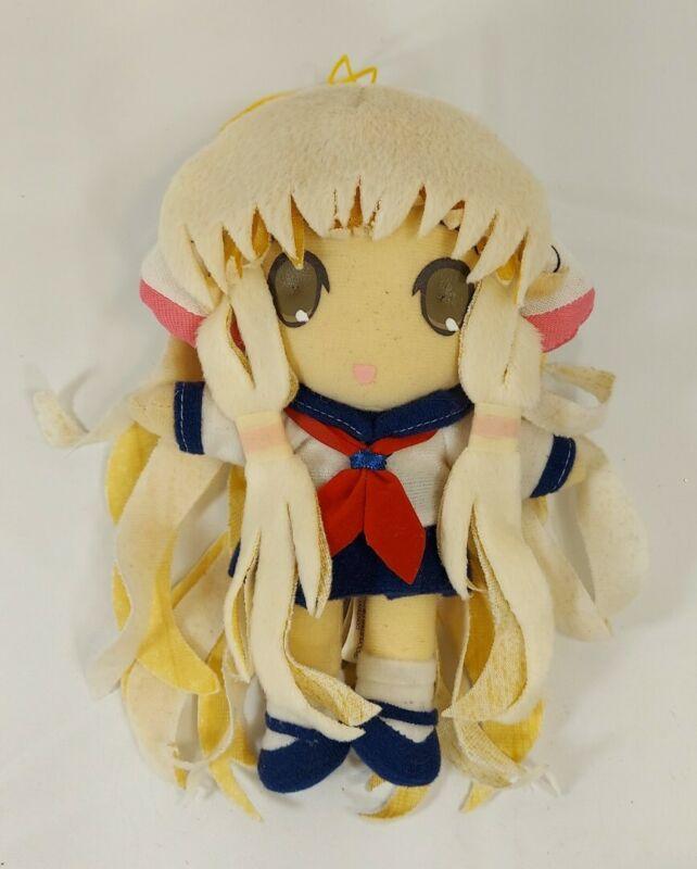 Chii in Sailor Uniform Plush by Clamp Chobits Needs TLC Read Description