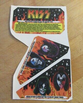 Stern Kiss Pinball Machine Stickers -08A, -09B, -09A