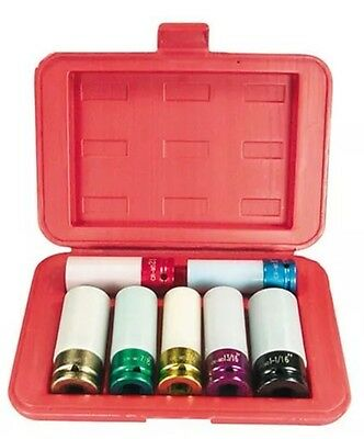 Shallow Broach Socket Set (Astro Pneumatic 7870 Chrome Protective Shallow Broach Socket)