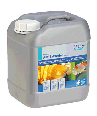 Oase AquaActiv AntiBakterien 5 l gegen Bakterien Gartenteich Teichmedizin NEU