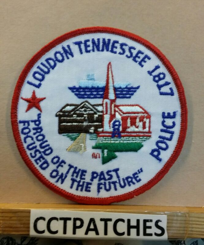 LOUDON, TENNESSEE POLICE SHOULDER PATCH TN