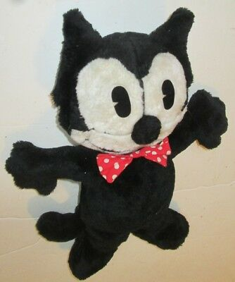 Felix The Cat Mini Plush with Red Bowtie. Wendy/'s toy 1996