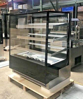 New 48 Bakery Deli Refrigerator Model Arc-500l Cooler Case Fridge Nsf