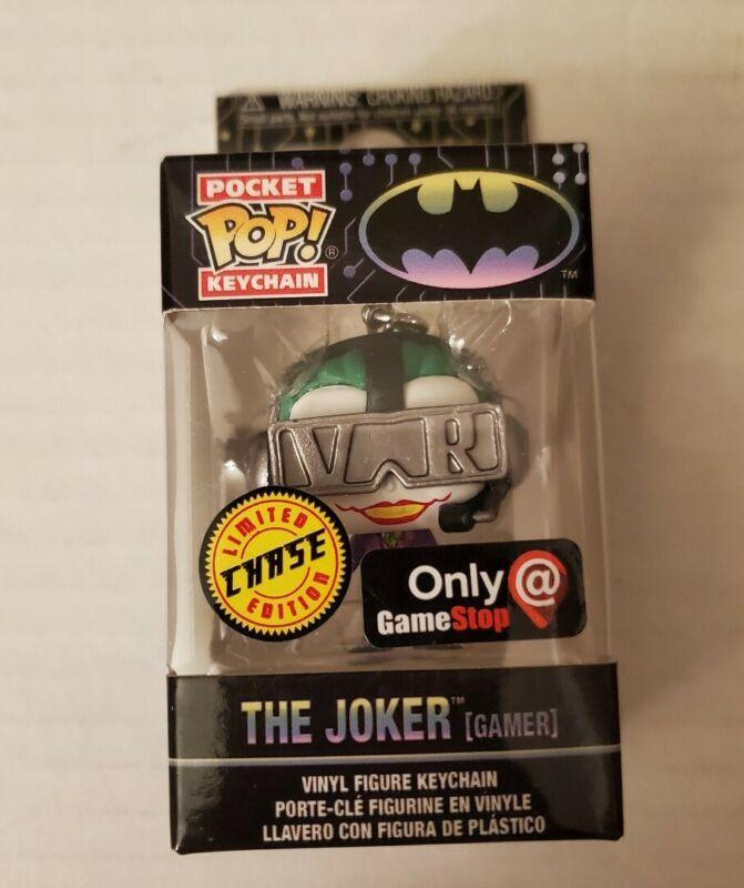 Funko Pocket Pop Batman Gamer Limited Edition Glow in The Dark Chase Exclusive Keychain