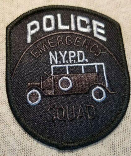 NY New York Emergency Squad Police Patch