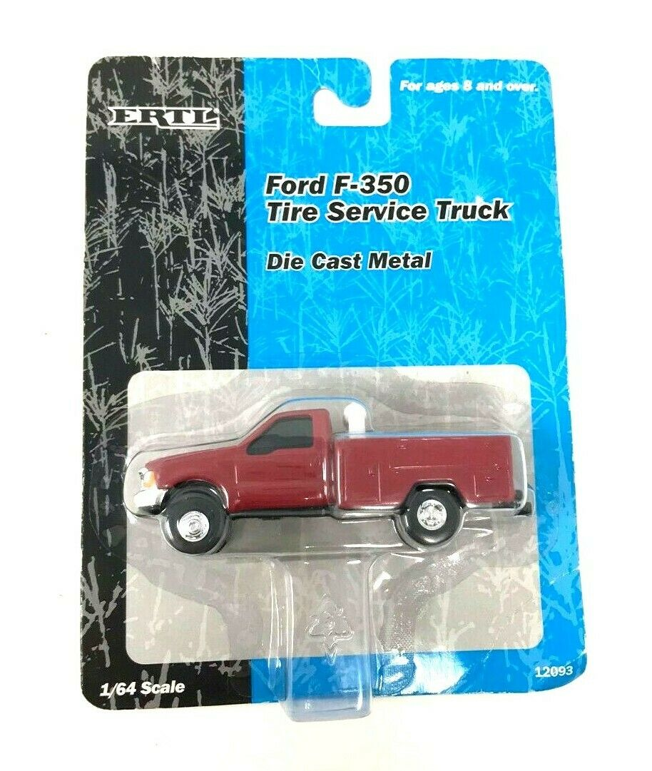 ERTL Die Cast F4000, F150, F350, Ford Pickup, Tractor, Rare 1/64 Scale