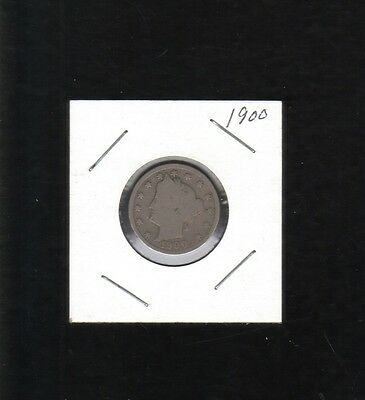 1900 Liberty Head Nickel Collector Coin Designed By Charles E  Barber