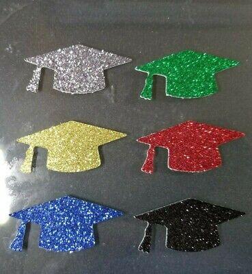 Graduation Grad Glitter cupcake toppers, decoration, class of 2019, congrats](Graduation Cupcake Decorations)