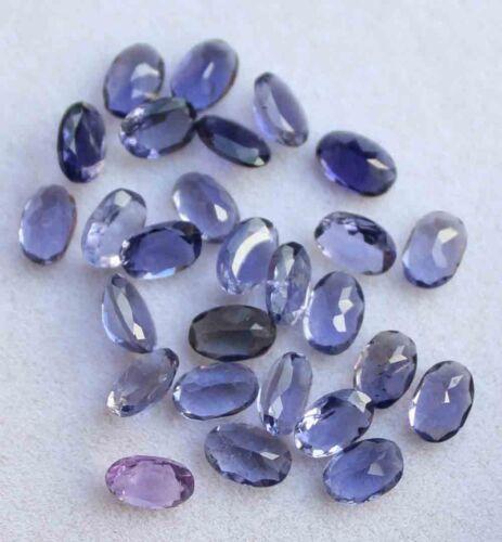 10.70 CT Natural Blue Iolite Gemstone Oval Cut Wholesale Lot