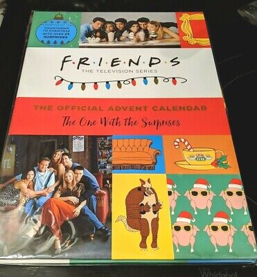 Friends Official Advent Calendar One With the Surprises TV Show SOLD OUT SEALED