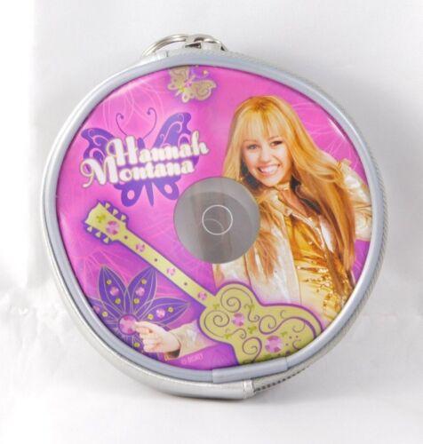 Disney Hannah Montana Miley Cyrus Small Disc Shape Coin Purse W/ Loop