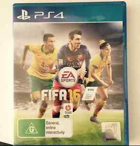 FIFA 16 PS4 Excellent condition Adamstown Newcastle Area Preview