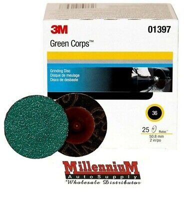 "Blue Industrial 50pc 714q50 ZA Roloc Grinding Sanding Disc 2/"" 36 Grit Zirconia"