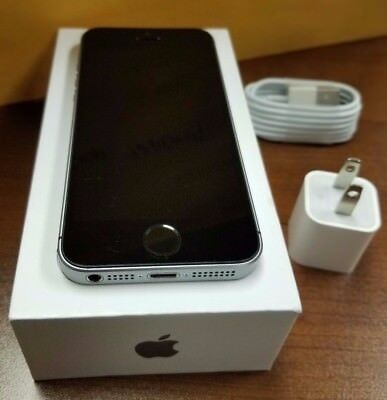 In Oem Box Apple Iphone Se 64Gb Space Gray   Gsm Global Unlocked  Excellent