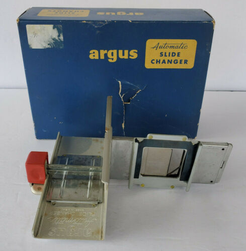 Vintage Argus Automatic Slide Changer w/ Original Box